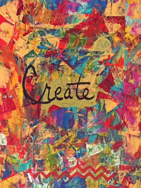 Words to Live By Collage Section - Create