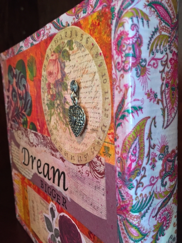 """Dream"" is an 8x8 sponsorship gift collage for 100+ Women Who Care"