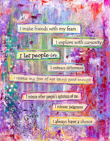 Make Friends with your Fears Mantras