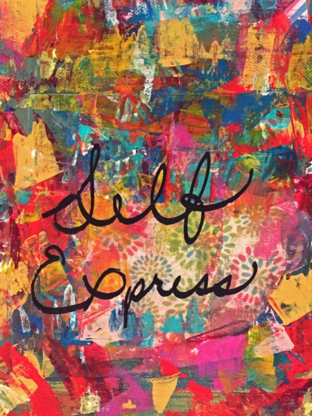 Words to Live By Collage Section - self express