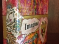 """Imagine Greater"" side view is an 8x8 sponsorship gift collage for 100+ Women Who Care"