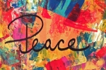 "Words to Live By Collage Section - ""peace"""